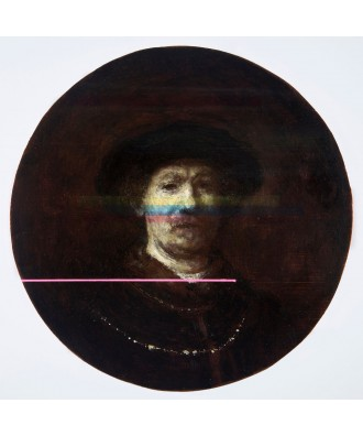 Neo Pentimenti - Decomposition III after Rembrandt