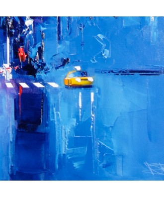 Taxi Blue - Manhattan