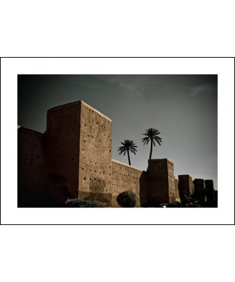 Marrakech 02 - Ancient walls