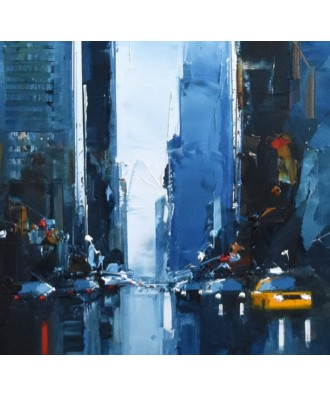 NYC - Blue Taxi