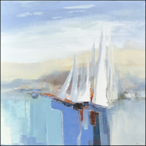 Les Voiles blanches II