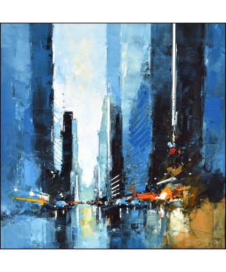 New York City - Blue Trafic