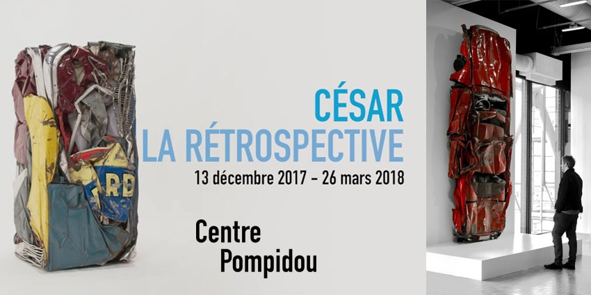 EXPO // CESAR - RETROSPECTIVE // CENTRE POMPIDOU // PARIS