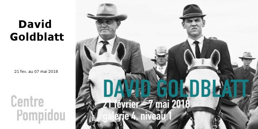 EXHIBITION // DAVID GOLDBLATT // CENTRE POMPIDOU // PARIS