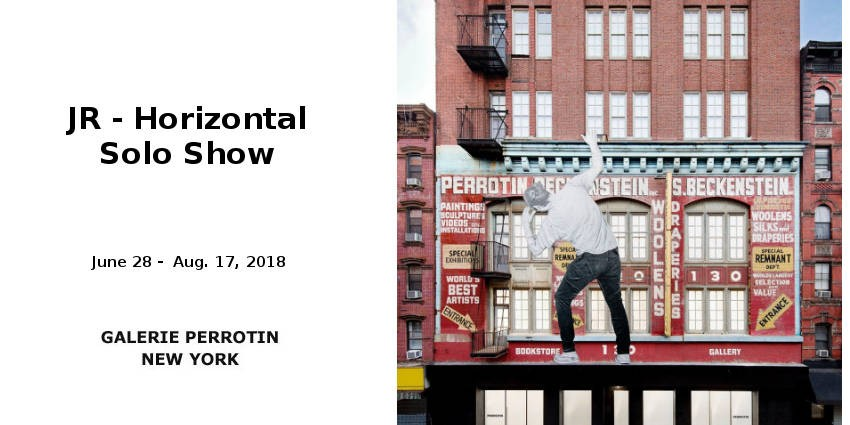 EXHIBITION //  JR - HORIZONTAL SOLO SHOW // GALLERY PERROTIN  // NEW YORK