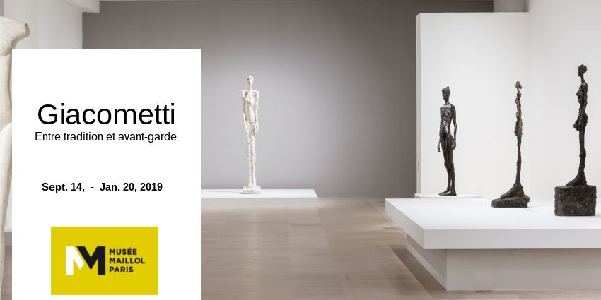 EXPO // GIACOMETTI  FROM TRADITION TO AVANT-GARDE // MUSEE MAILLOL // PARIS