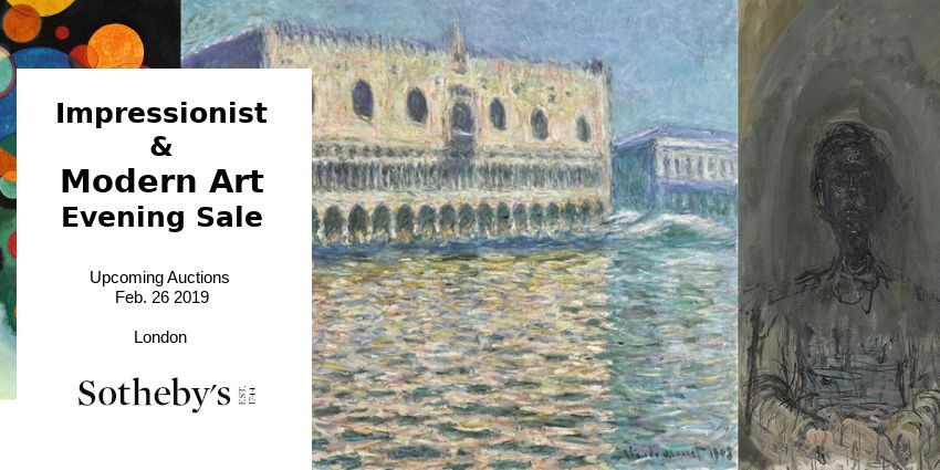 Upcoming Auctions // Sotheby's - London // Impressionist & Modern Art