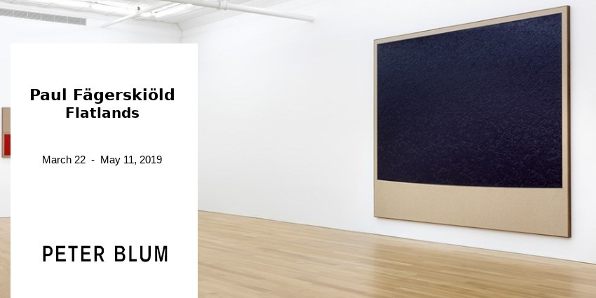 EXHIBITION // PAUL FAGERSKIOLD // PETER BLUM GALLERY // NEW YORK