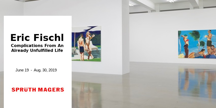 EXHIBITION  //  ERIC FISCHL  //  SPRUTH MAGERS GALLERY  //  LOS ANGELES