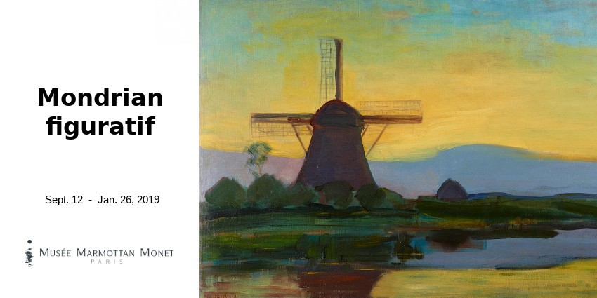 EXHIBITION // THE FIGURATIVE MONDRIAN // MUSEE MARMOTTAN MONET // PARIS