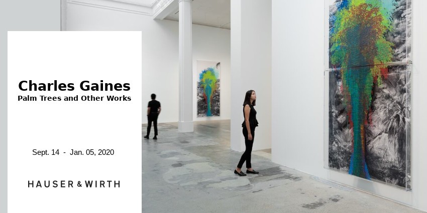 EXHIBITION  //  CHARLES GAINES  //  HAUSER & WIRTH //  LOS ANGELES