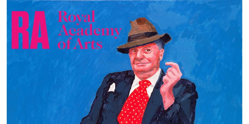 David Hockney RA: 82 Portraits and 1 Still-life // Royal Academy of Arts