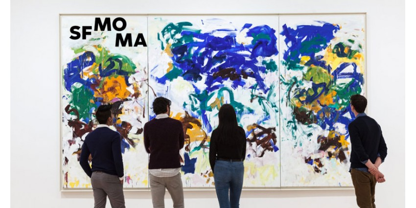 Approaching American Abstraction // The Fisher Collection // SFMOMA