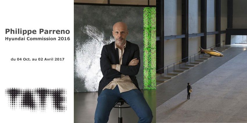 Philippe Parreno - Hyundai Commission 2016 // Tate Londres // Anywhen