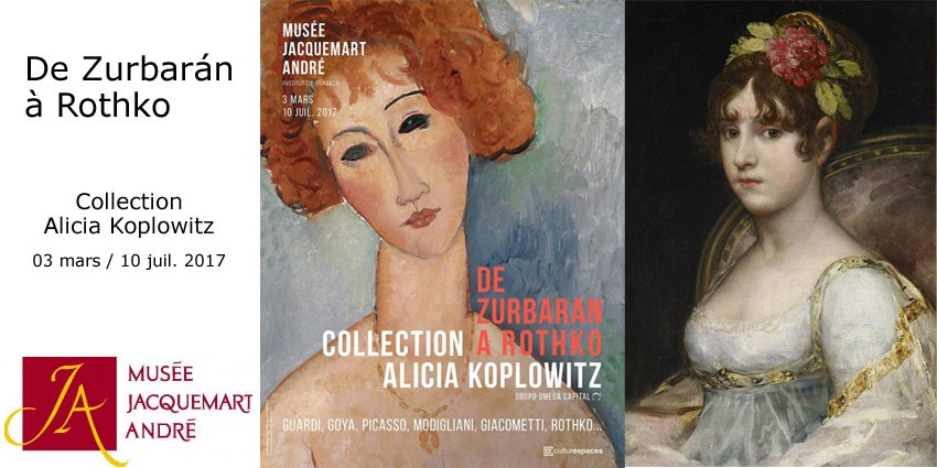 DE ZURBARAN A ROTHKO // MUSEE JACQUEMART ANDRE // COLLECTION KOPLOWITZ