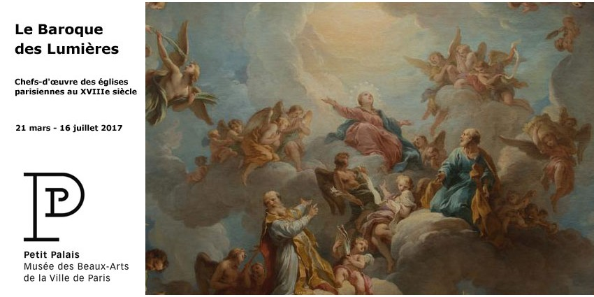 Exhibition // Baroque during the Enlightenment // Masterpieces in Paris Churches