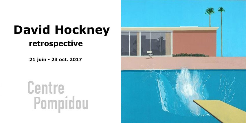 Expo // David Hockney // Retrospective // Centre G. Pompidou
