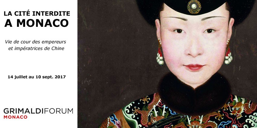 Exhibition // The Forbidden City in Monaco // Juily 14th to Sept. 10th  2017