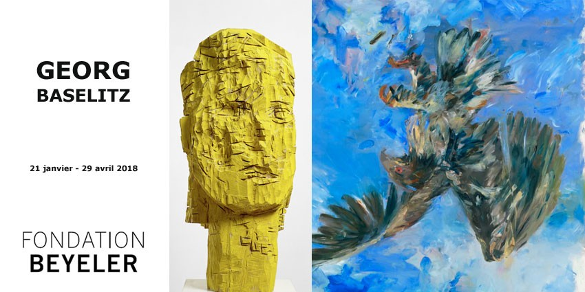 EXHIBITION // GEORG BASELITZ // FONDATION BEYELER // BALE