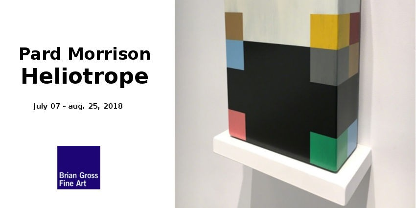 EXHIBITION // PARD MORRISON : HELIOTROPE //  BRIAN GROSS FINE ART // SAN FRANCISCO
