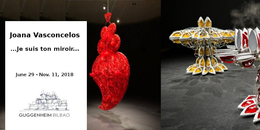 EXHIBITION // JOANA VASCONCELOS  // I'M YOUR MIRROR // BILBAO