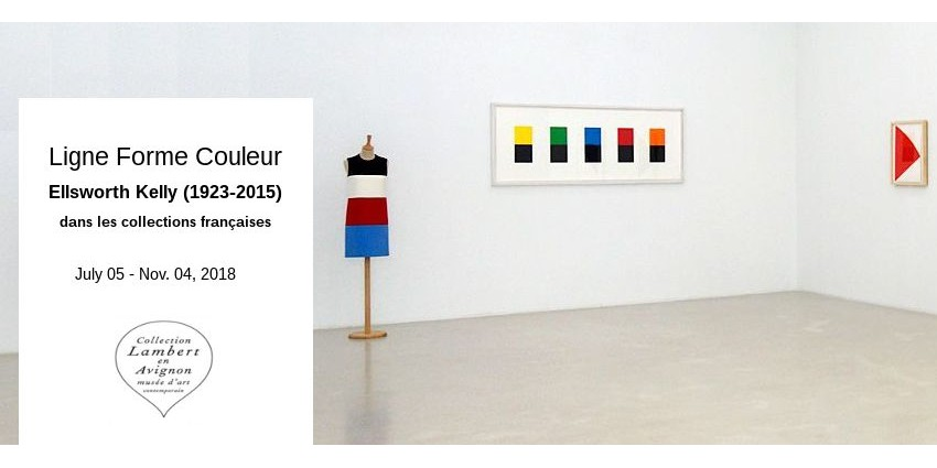 EXPO // LIGNE FORME COULEUR - ELLSWORTH KELLY // COLLECTION LAMBERT EN AVIGNON