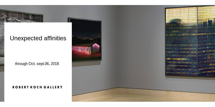 EXHIBITION // UNEXPECTED AFFINITIES // ROBERT KOCH GALLERY // SAN FRANCISCO