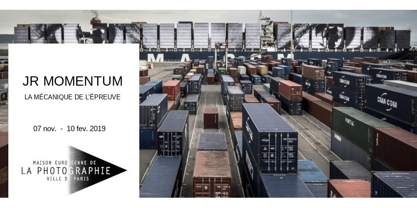 EXPO // JR MOMENTUM - LA MECANIQUE DE L'EPREUVE // MEP // PARIS