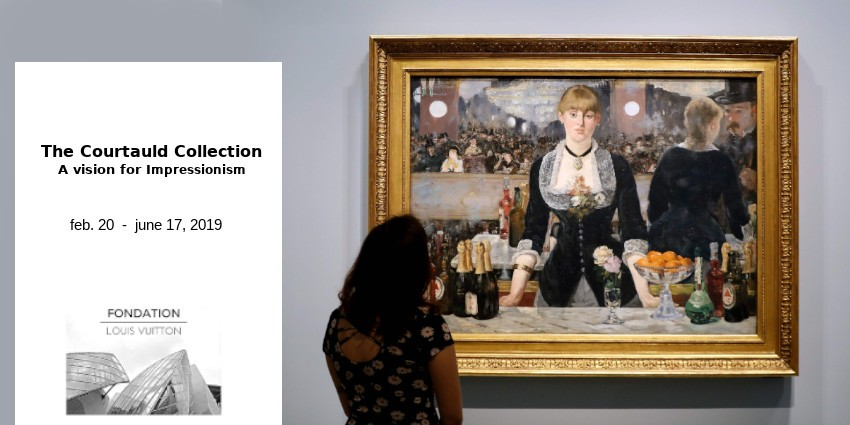 EXHIBITION //  THE COURTAULD COLLECTION // FONDATION LOUIS VUITTON // PARIS
