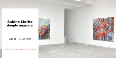 EXHIBITION // SABINE MORITZ - DEEPLY UNAWARE // MARIAN GOODMAN // PARIS