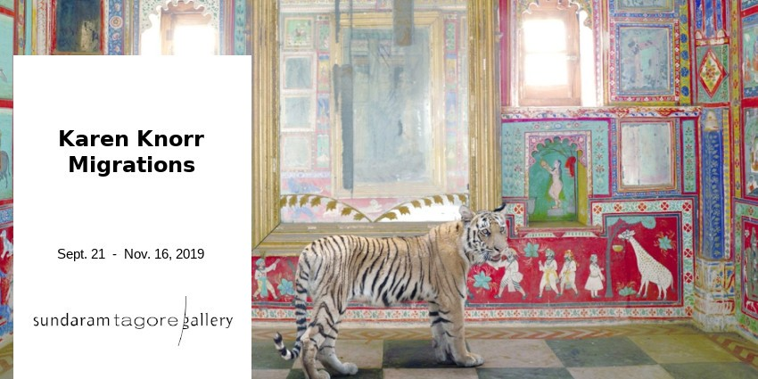 EXHIBITION //  KAREN KNORR - MIGRATIONS // SUNDARAM TAGORE GALLERY // SINGAPORE