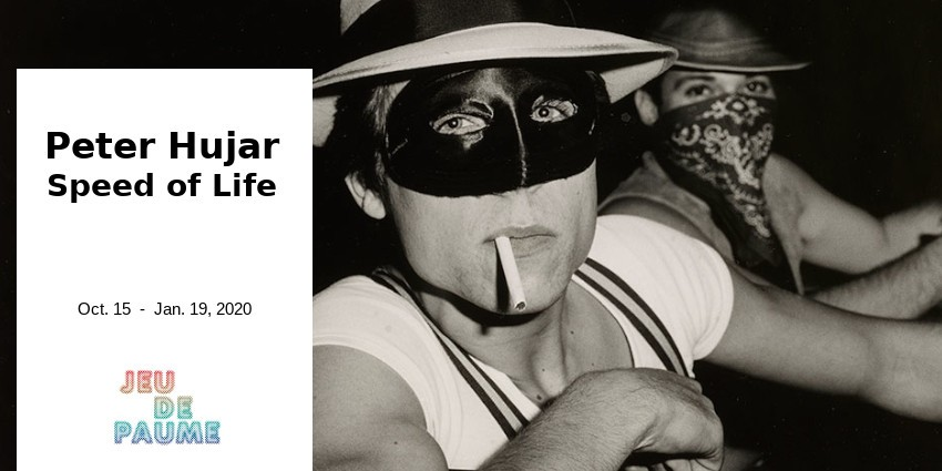 EXHIBITION // PETER HUJAR  // SPEED OF LIFE // JEU DE PAUME - PARIS