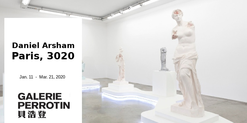 EXHIBITION // DANIEL ARSHAM - PARIS 3020 // GALERIE PERROTIN PARIS