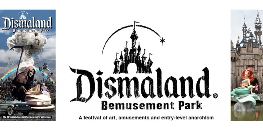 Dismaland : Disney version Banksy - impertinence - cynisme et contestation