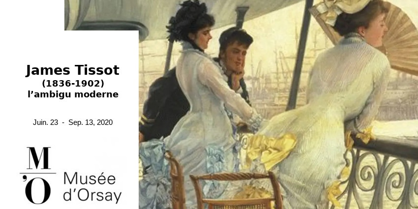 EXHIBITION // JAMES TISSOT - AMBIGUOUSLY MODERN // MUSEE D'ORSAY
