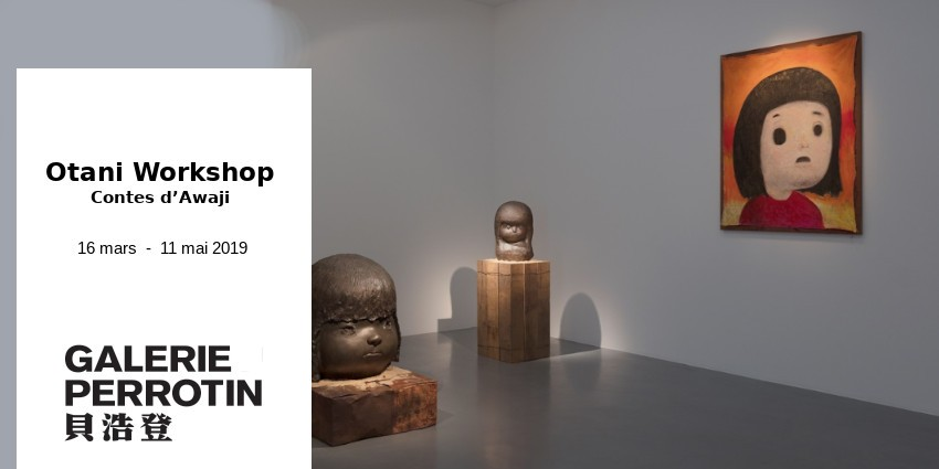 EXHIBITION // Otani Workshop - Contes d'Awaji // Galerie Perrotin Paris