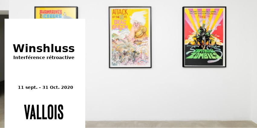 EXHIBITION // WINSHLUSS - RETROACTIVE INTERFERENCE // GALERIE VALLOIS // PARIS