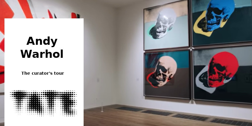DOC // ANDY WARHOL - EXHIBITION TOUR (7mn) // TATE MODERN // LONDON