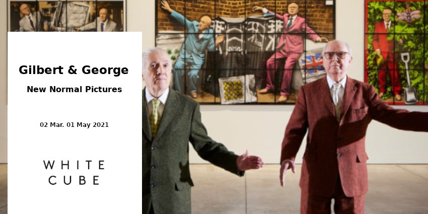 EXHIBITION // GILBERT & GEORGE // WHITE CUBE // LONDON